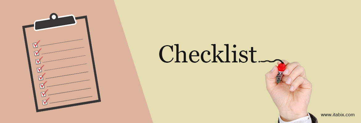 Checklist for Website Design and Development